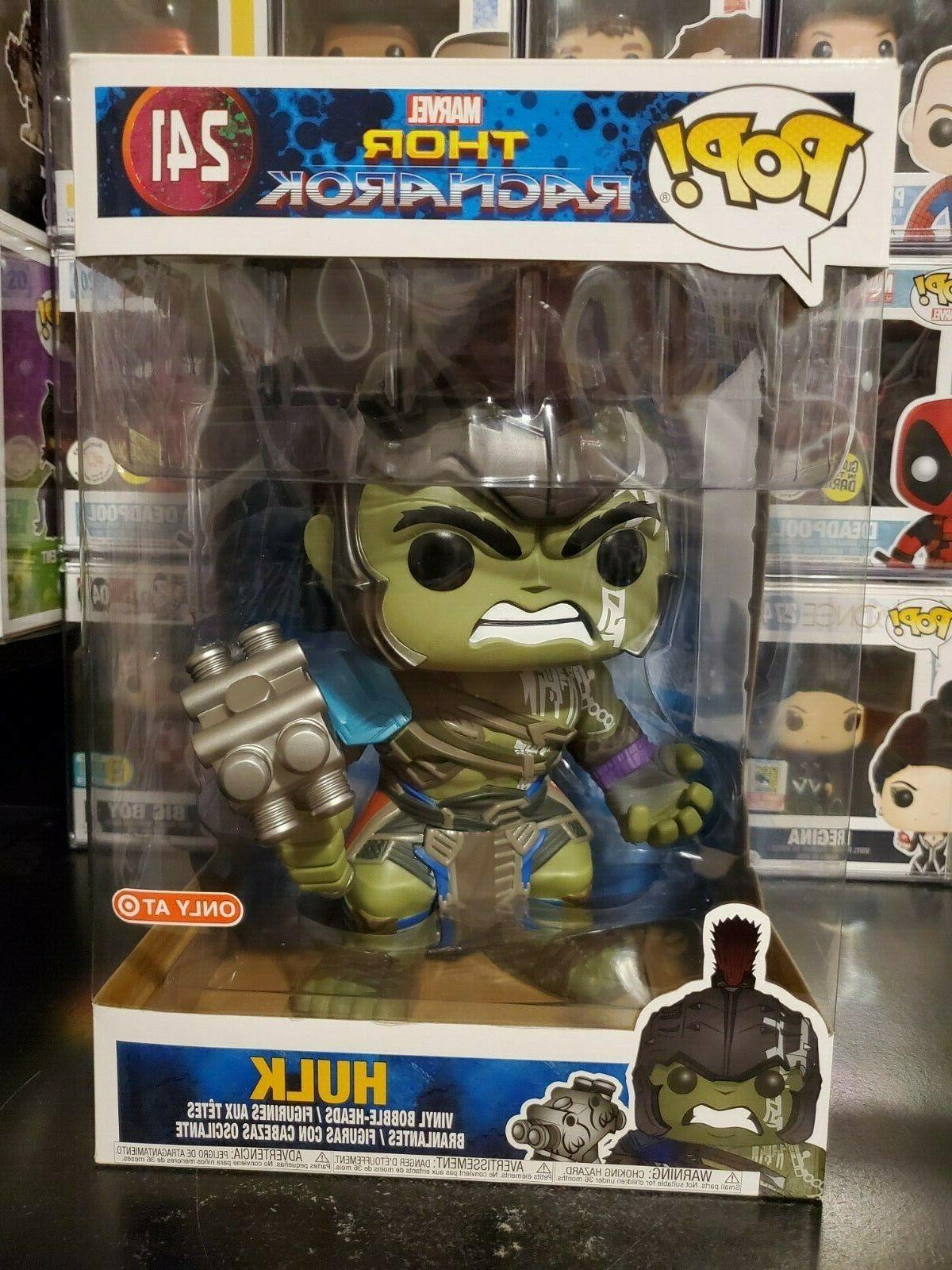 pop marvel thor ragnarok 10 inch hulk