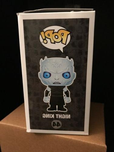 Funko Night King AT&T Exclusive Game of Thrones GOT Damaged box*