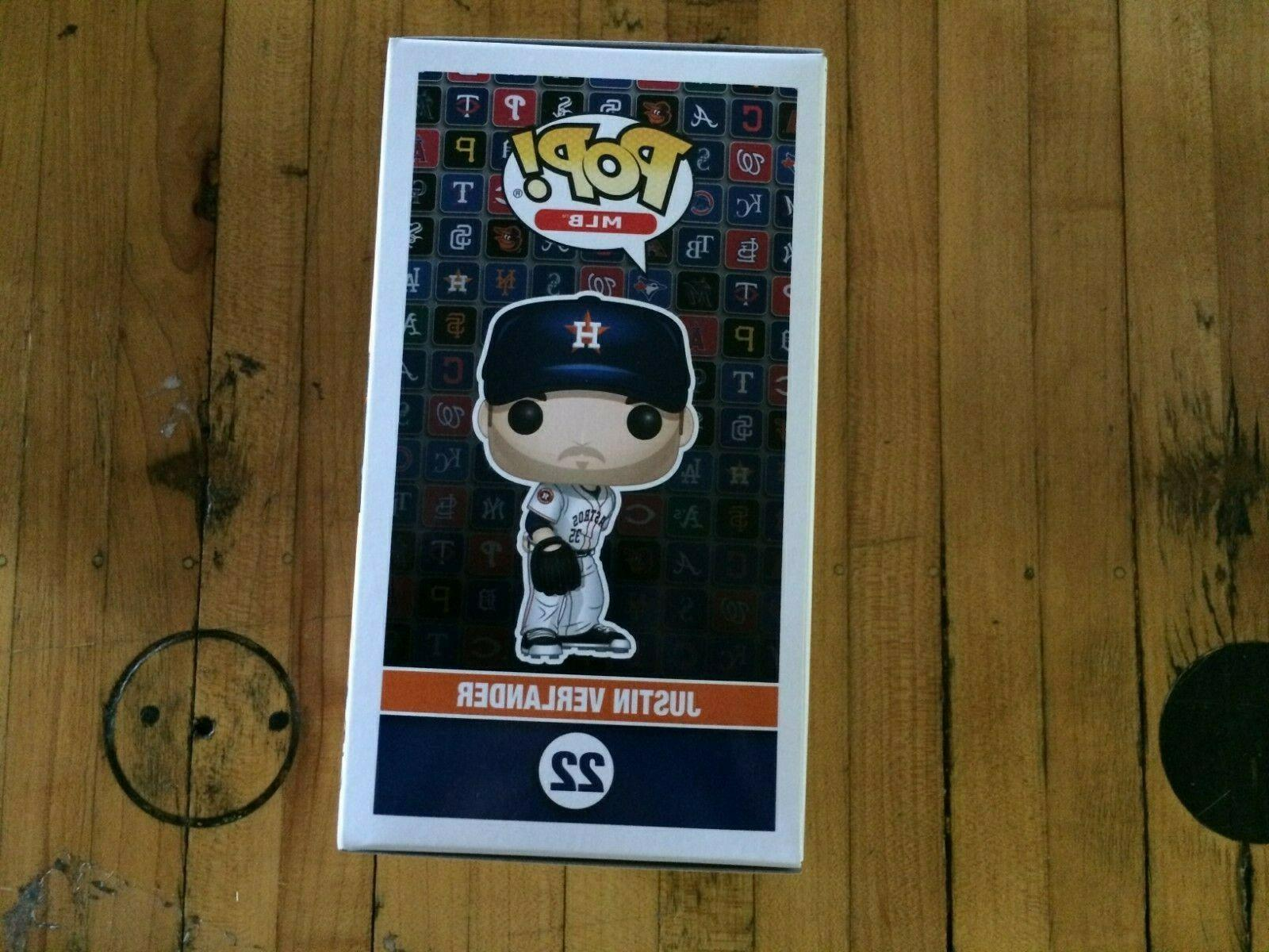 Funko Pop Baseball Justin In Box