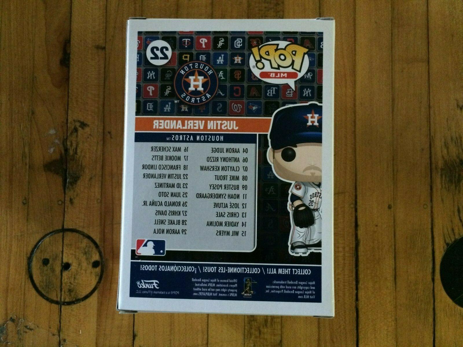 Funko Pop MLB: Baseball - Houston Astros Justin Verlander #22 In