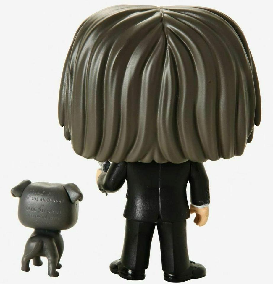 Funko John Wick with #580 Collectible Figure w/