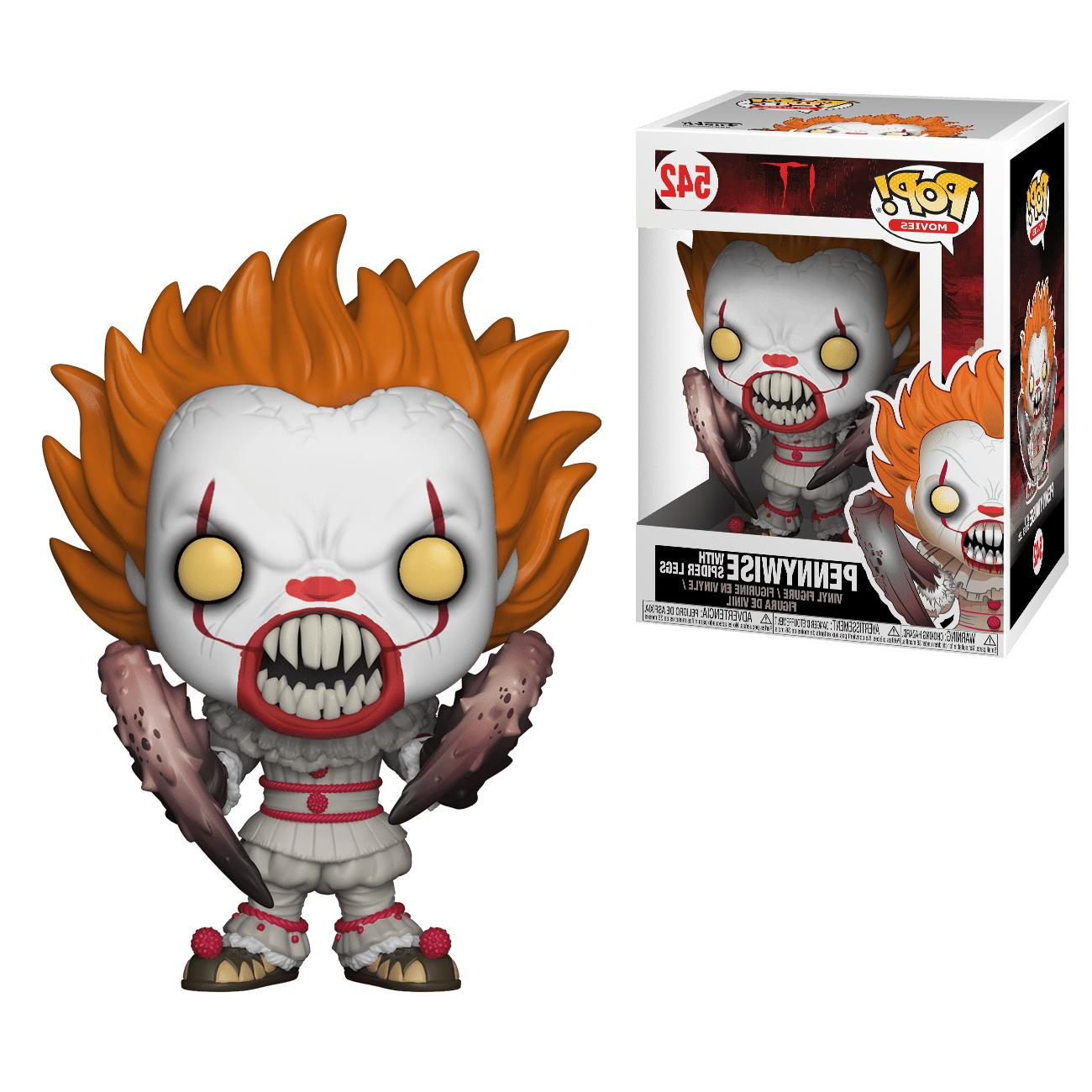pop movies it pennywise 542 with spider