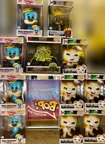 Funko Pop Box Figurine! Grails+Vaults+Chases+ One