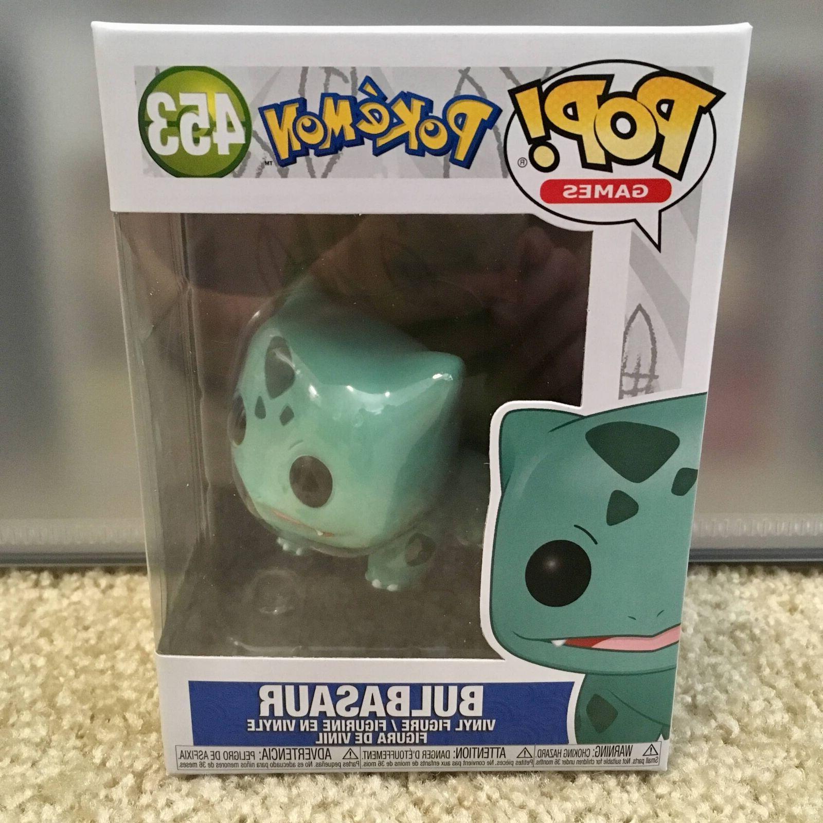 pop pokemon bulbasaur vinyl figure 453 pre