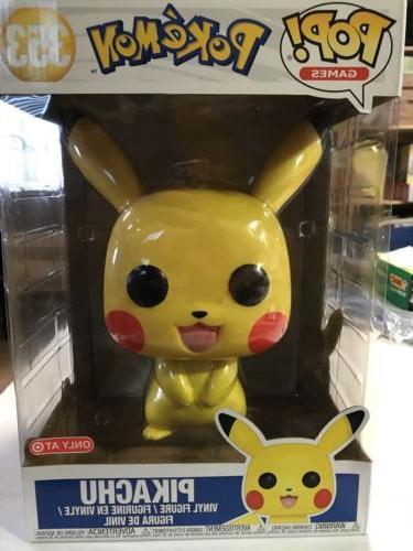 pop pokemon pikachu 10 inch target exclusive