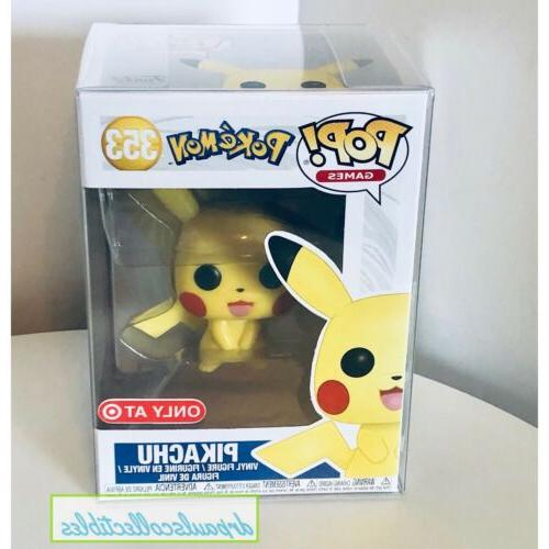 pop pokemon pikachu exclusive vinyl figure