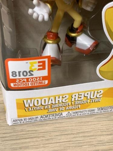 Funko #285 LE 1/1500 The Hedgehog E3 Exclusive -NEW