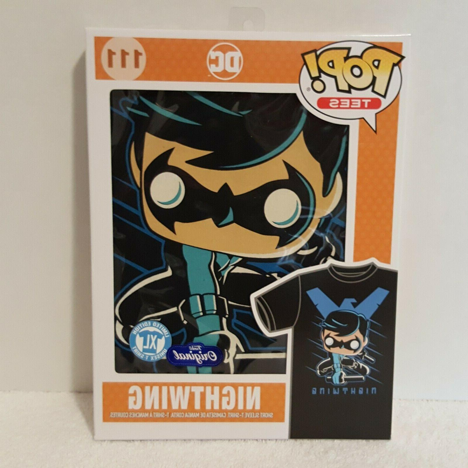 pop tees 111 nightwing 2016 limited edition