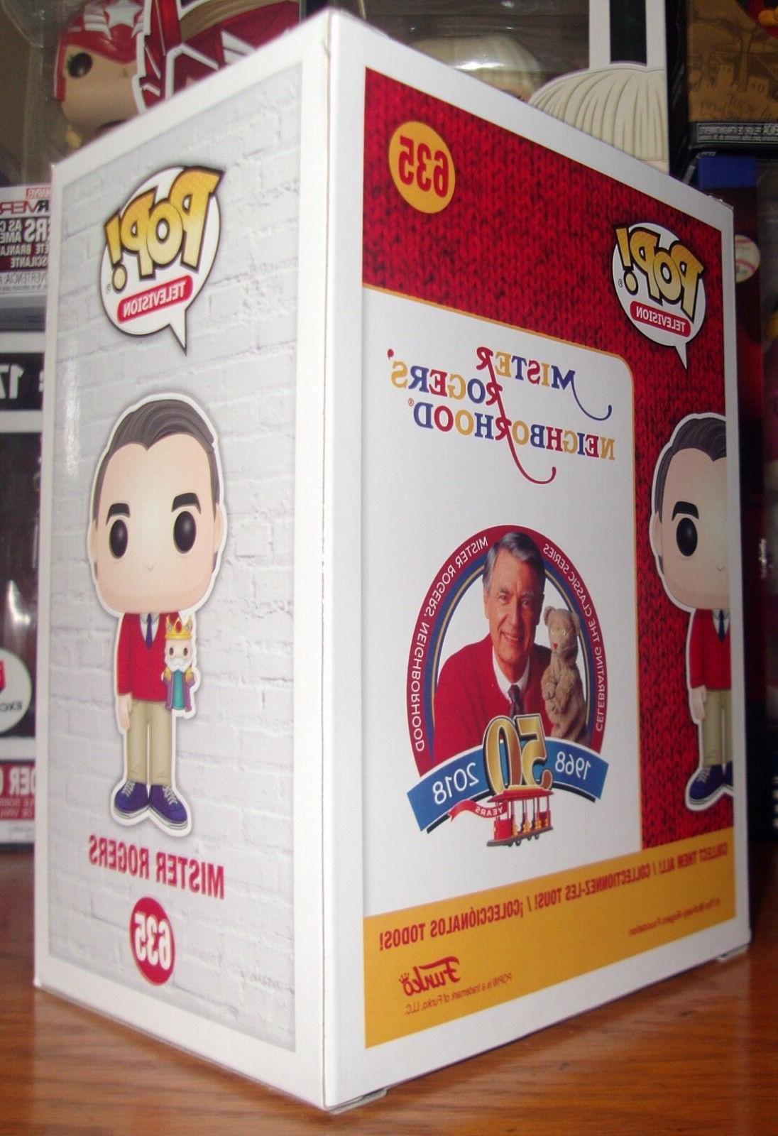 Funko Pop!: #635 Mister Rogers w/Puppet