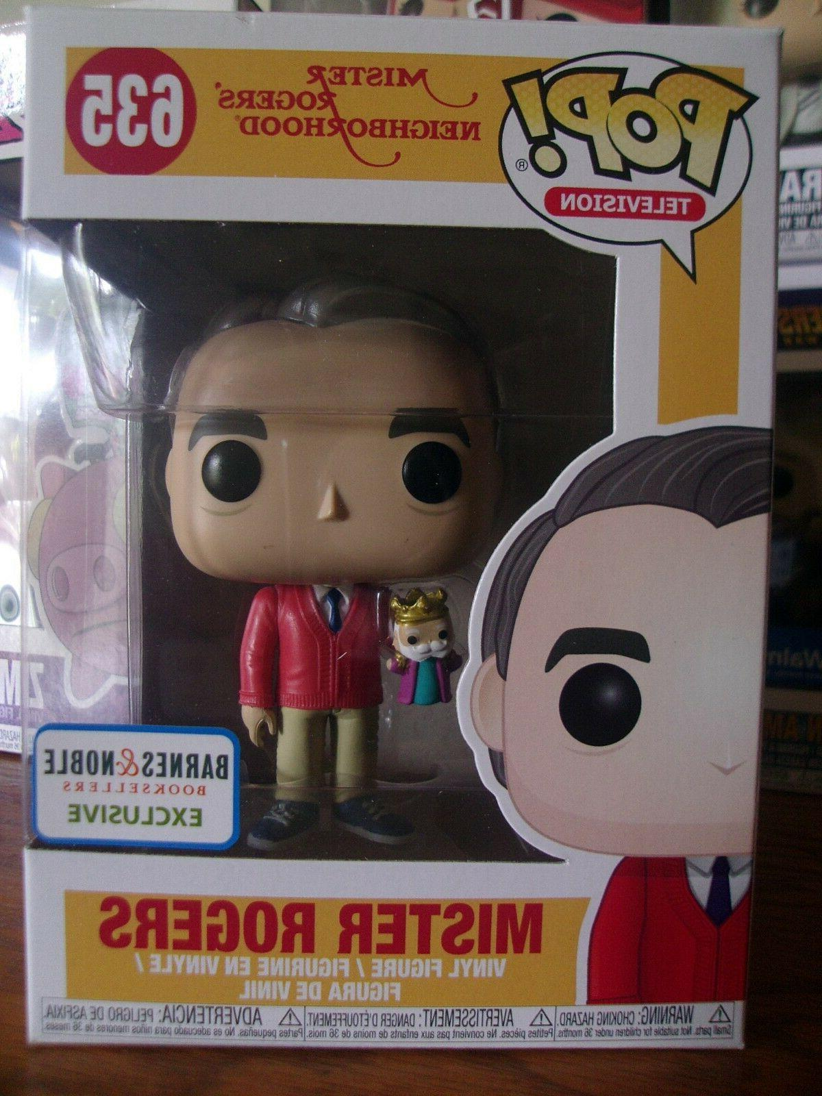pop television 635 mister rogers w puppet