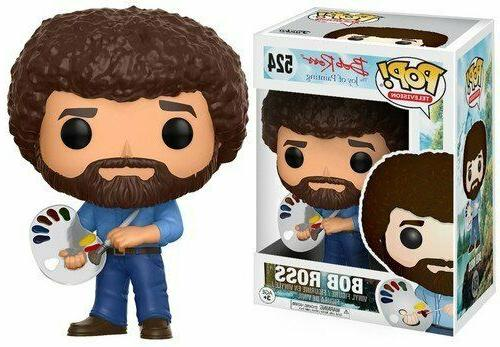 pop television bob ross pop vinyl figure