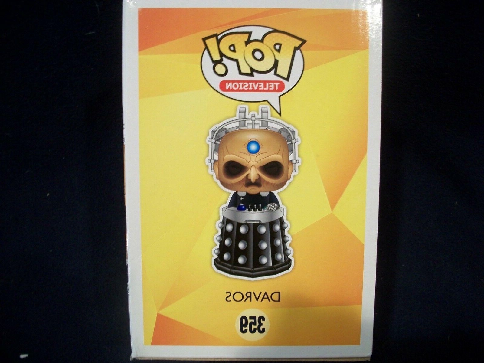 6 Davros Doctor Who POP Vinilo