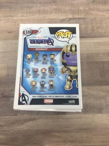 Funko Pop Thanos Marvel Studios Endgame Vinyl