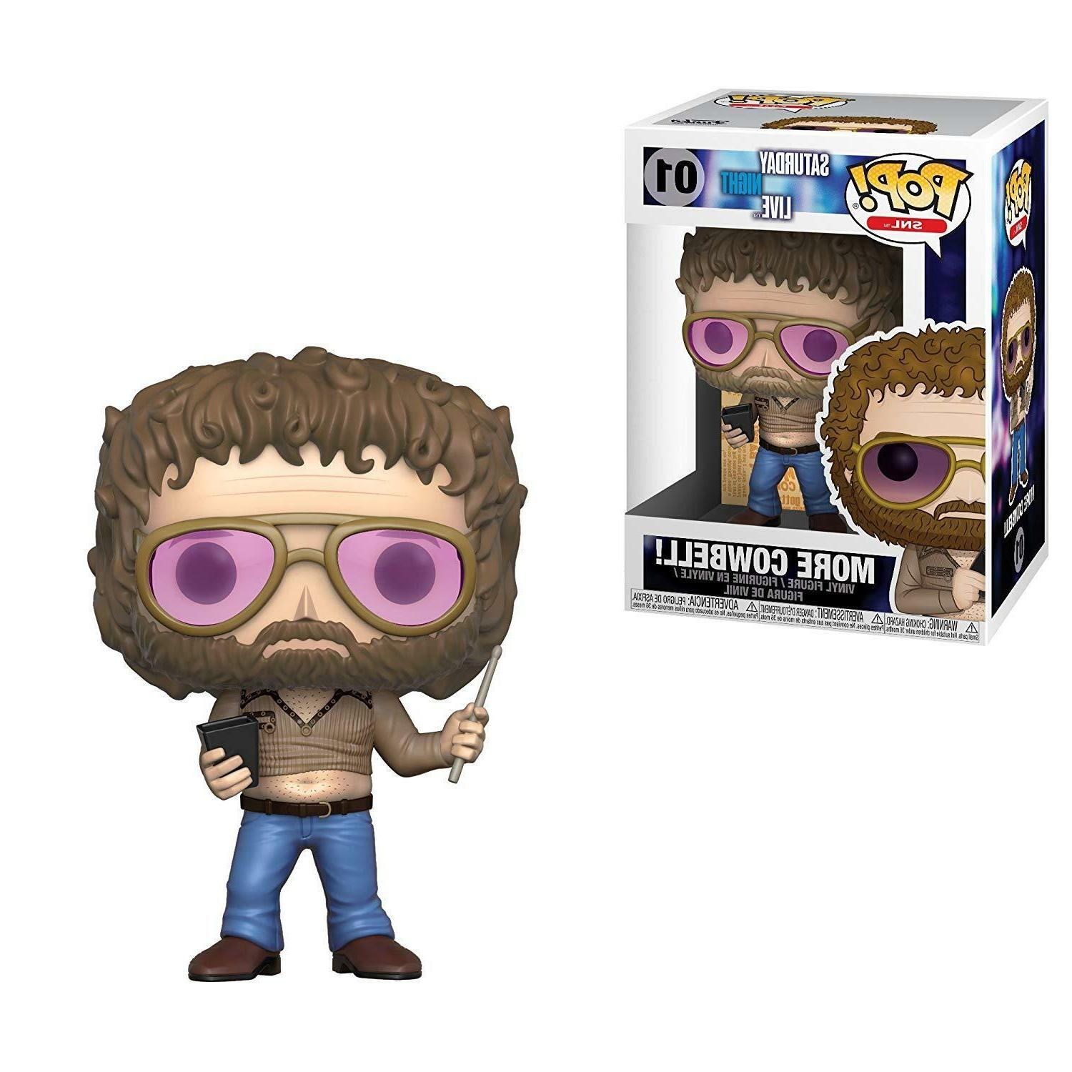 Funko POP! TV: Night Live Gene More Cowbell Collectible