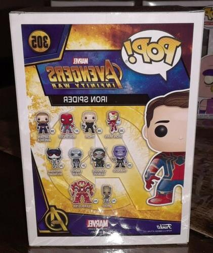 Funko POP IRON Avengers #305
