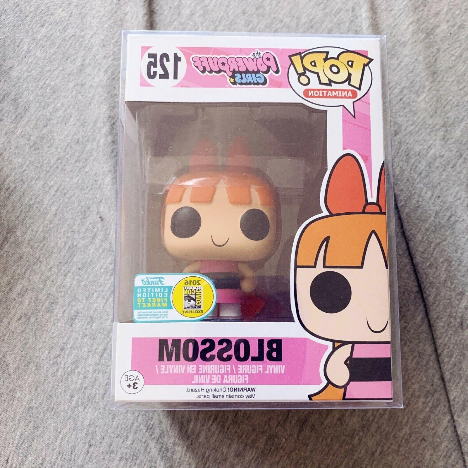Power Puff Girls BLOSSOM Funko Pop Comic Con 2016  **FREE BO