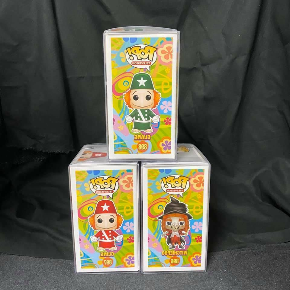 Set 3 Pop H.R. Pufnstuf : Clang, and