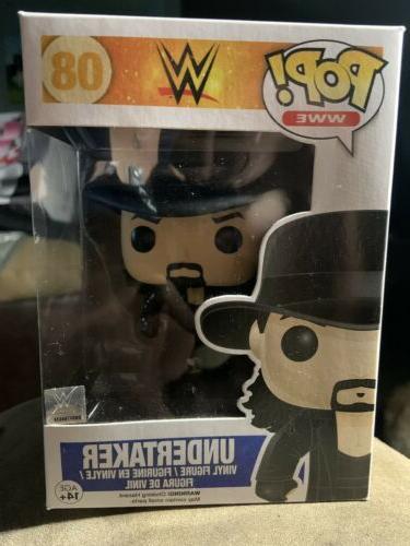 wwe undertaker pop figure collectible