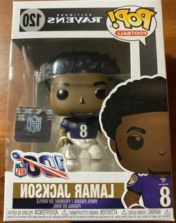 Lamar Jackson NFL Funko Pop #120 Baltimore Ravens MVP w/Prot
