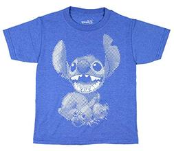 Disney Lilo & Stitch T-Shirt Little Boys Dot Graphic Movie C