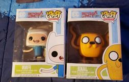 Lot of 2 Funko Pop Adventure Time FINN 32 & JAKE 33 Televisi