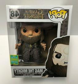 "MAG THE MIGHTY 48 Game of Thrones FUNKO POP 6"" figure 2016 C"