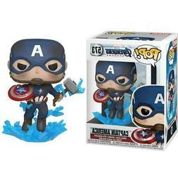 Marvel Avengers Endgame #573 - Captain America with Broken S
