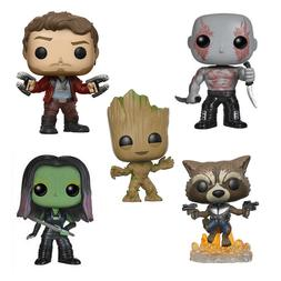 Marvel Characters Rocket Raccoon Star-Lord Gamora Drax the D