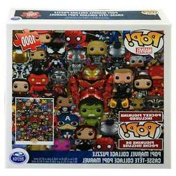 Marvel Funko Pop Collage Puzzle  with Mystery Pop Figurine I