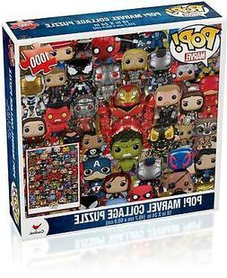 Marvel Funko Pop Puzzle