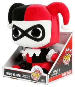 """FUNKO MEGA POP! 12"""" Harley Quinn PLUSH NEW! / Super Soft -DC"""