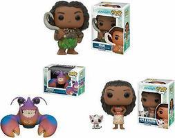 Moana, Maui, and Tamatoa Disney Funko Pop! Bundle - Movie Fi