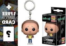 Morty: Funko Pocket POP! x Rick & Morty Mini-Figural Keychai
