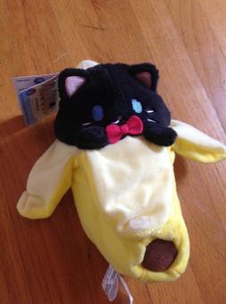 "New BANANYA Funko 8"" Pop Anime Plush Stuffed Black Cat Banan"