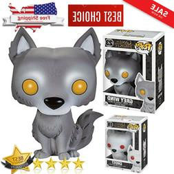 New EXCLUSIVE Funko POP! Game of Thrones Grey and White Wind