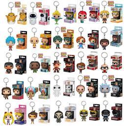 New Keyring Chucky/Bob Ross/Ariel/Goku/Naruto Figure Funko P
