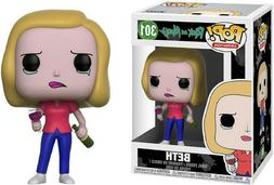 NEW Funko Pop! Animation Rick and Morty BETH with wine glass