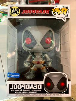 NEW - Funko Pop! - Deadpool Grey X-Force 10 Inch - Marvel -