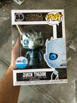 NEW Funko Pop! Game of Thrones #44 Metalic Night King AT&T E