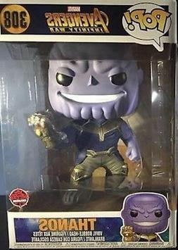 New Funko Pop ! Marvel Avengers Infinity War #308 Thanos 10""