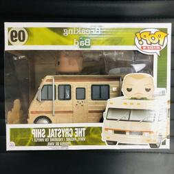 New Funko Pop Rides Breaking Bad The Crystal Ship VAULTED wi