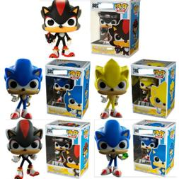 New With Box Funko Pop Super Sonic Vinyl Action Figure figur