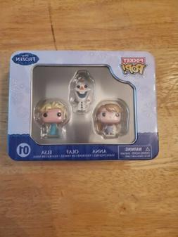 NIB Funko Frozen Pocket Pop Mini Vinyl Figure Tin Featuring