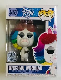 NIB Disney Pixar Inside Out Rainbow Unicorn Exclusive 514 Fu