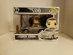 NIB Funko Pop! Rides 007 James Bond With Aston Martin D85