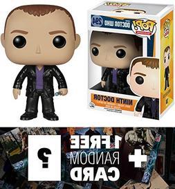 Ninth Doctor: Funko POP! x Doctor Who Vinyl Figure + 1 FREE