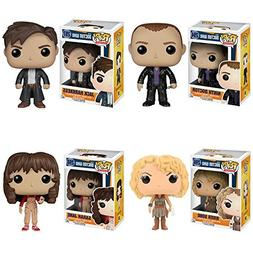 Doctor Who Ninth Doctor, Jack Harkness, River Song, Sara Jan