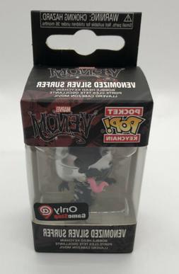 Funko Pocket Pop Keychain Marvel Venom Venomized Silver Surf