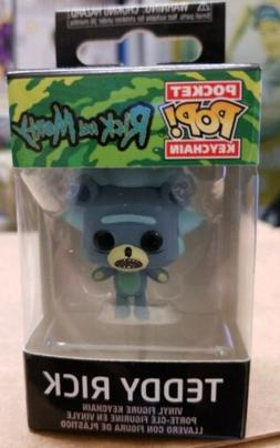 Funko Pocket Pop Keychain: Rick and Morty - Teddy Rick Vinyl