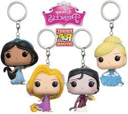 Funko Pocket POP! Keychains: Assorted DISNEY PRINCESSES - 1